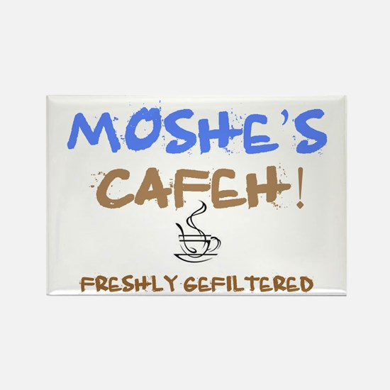 MOSHES GEFILTERED COFFEE Rectangle Magnet
