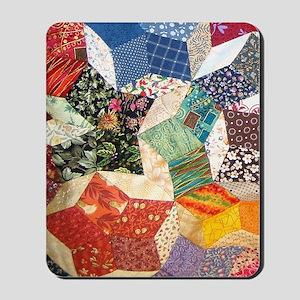 Colorful Patchwork Quilt Mousepad