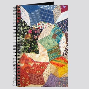 Colorful Patchwork Quilt Journal