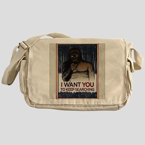 Keep Searching Messenger Bag