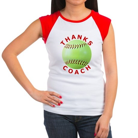 Softball Coach Thank Yo Women's Cap Sleeve T-Shirt