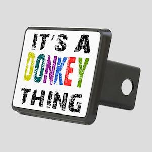 donkeything Rectangular Hitch Cover