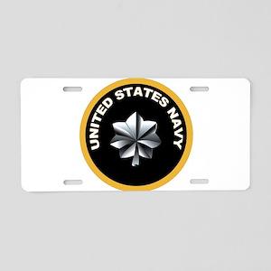 Commander Aluminum License Plate
