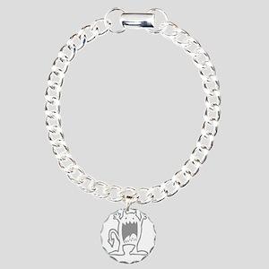 Burpee Monster Charm Bracelet, One Charm