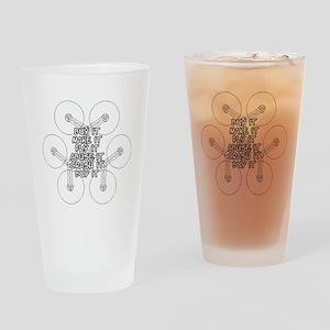 Buy it, Make it, Fly it, Abuse it,  Drinking Glass