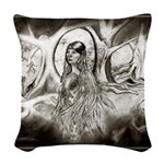 Cherokee Rose Trail of Tears Woven Throw Pillow