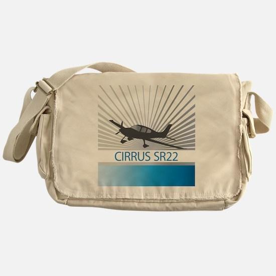 Aircraft Cirrus SR22 Messenger Bag