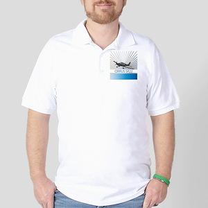 Aircraft Cirrus SR22 Golf Shirt