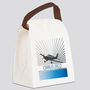 Aircraft Cirrus SR22 Canvas Lunch Bag