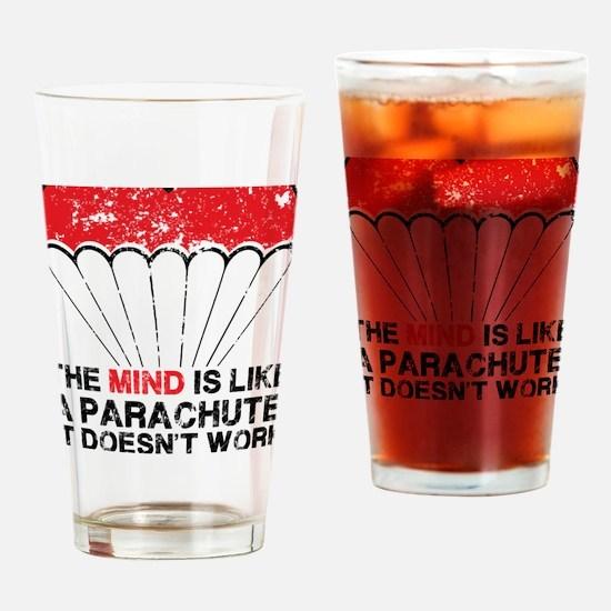 parachute Drinking Glass