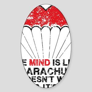 parachute Sticker (Oval)