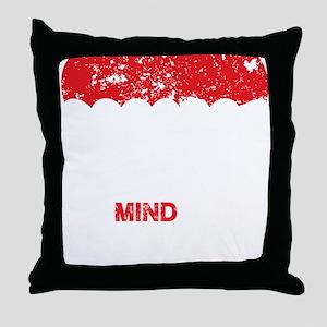 parachute_bl Throw Pillow