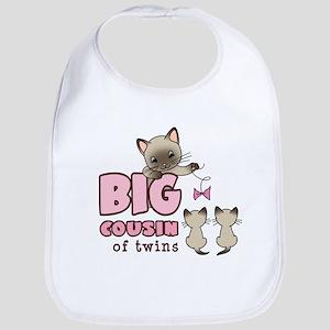 Big Cousin of Twins (Kitty) Bib