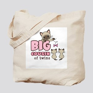 Big Cousin of Twins (Kitty) Tote Bag