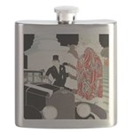 Art Deco Theatre Outing Flask
