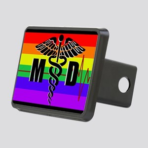 Medical Doctor Pride Rectangular Hitch Cover