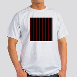 tileboxredpinstripe Light T-Shirt