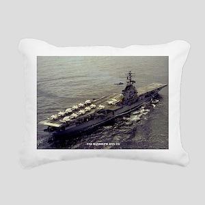 randolph cvs large frame Rectangular Canvas Pillow