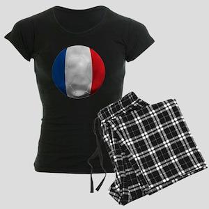 France Football Women's Dark Pajamas