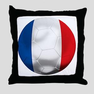 France Football Throw Pillow