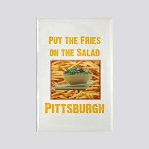 Fries Rectangle Magnet