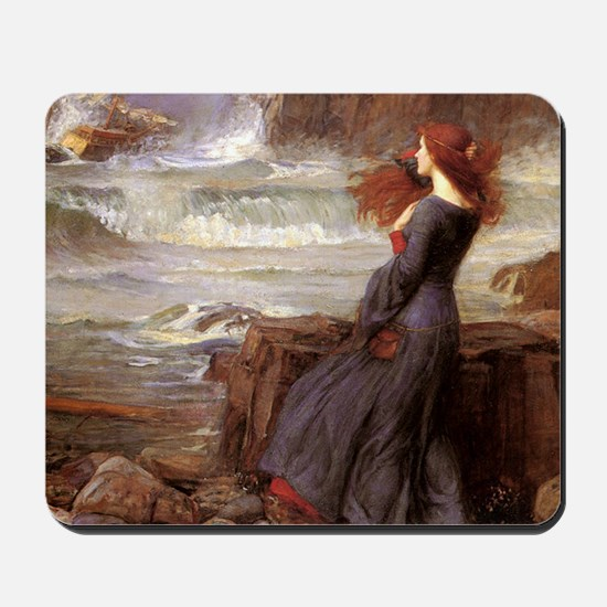 Waterhouse_miranda_the_tempest1SC Mousepad