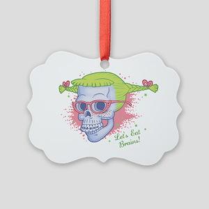 nerd-girl-sk-LTT Picture Ornament