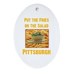 Fries Oval Ornament