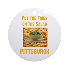 Fries Ornament (Round)