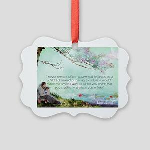 Dreams Come True Picture Ornament