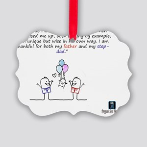 Two Daddy Picture Ornament