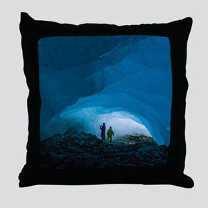 2013.04 Ice Cave Throw Pillow
