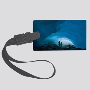 2013.04 Ice Cave Large Luggage Tag