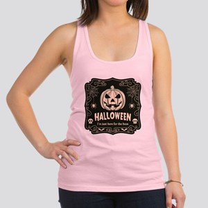 Here For The Boos Racerback Tank Top