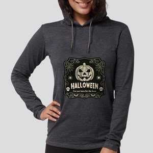 Here For The Boos Womens Hooded Shirt