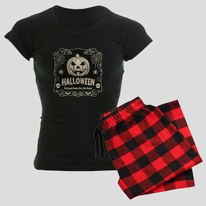Here For The Boos Women's Dark Pajamas