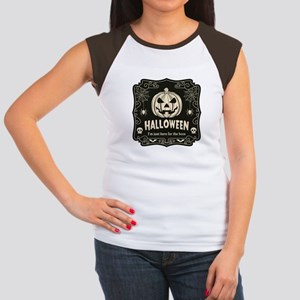 Here For The Boos Junior's Cap Sleeve T-Shirt