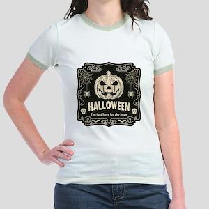 Here For The Boos Jr. Ringer T-Shirt