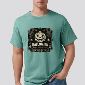 Here For The Boos Mens Comfort Colors Shirt