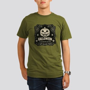 Here For The Boos Organic Men's T-Shirt (dark)