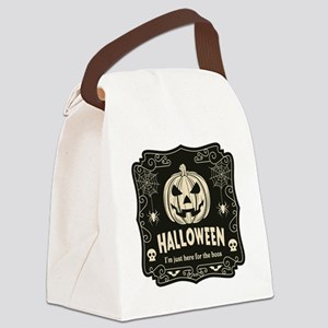 Here For The Boos Canvas Lunch Bag