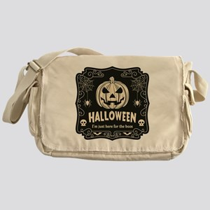 Here For The Boos Messenger Bag