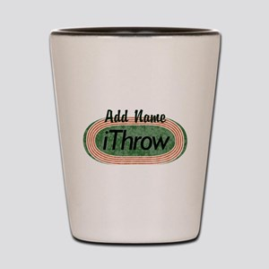 Track and Field iThrow Shot Glass