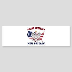 New Britain Connecticut Polish Sticker (Bumper)
