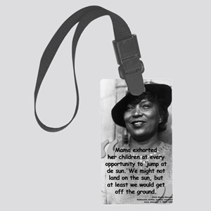 Zora Mama Quote Large Luggage Tag