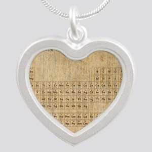vintageperioidctable Silver Heart Necklace