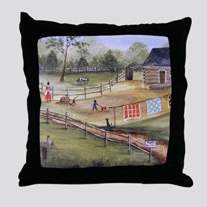 Mary Pattersons Quilts Throw Pillow