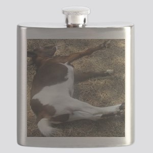 fainting goat Flask