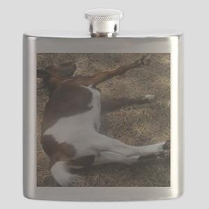 fainting goat Flask