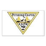 Pittsburgh AAZK Chapter Logo Sticker